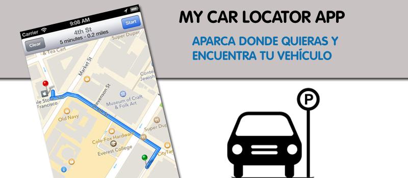 Aparca tu coche y encuentralo con esta app