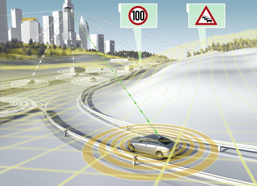 eHorizon control de velocidad de Continental