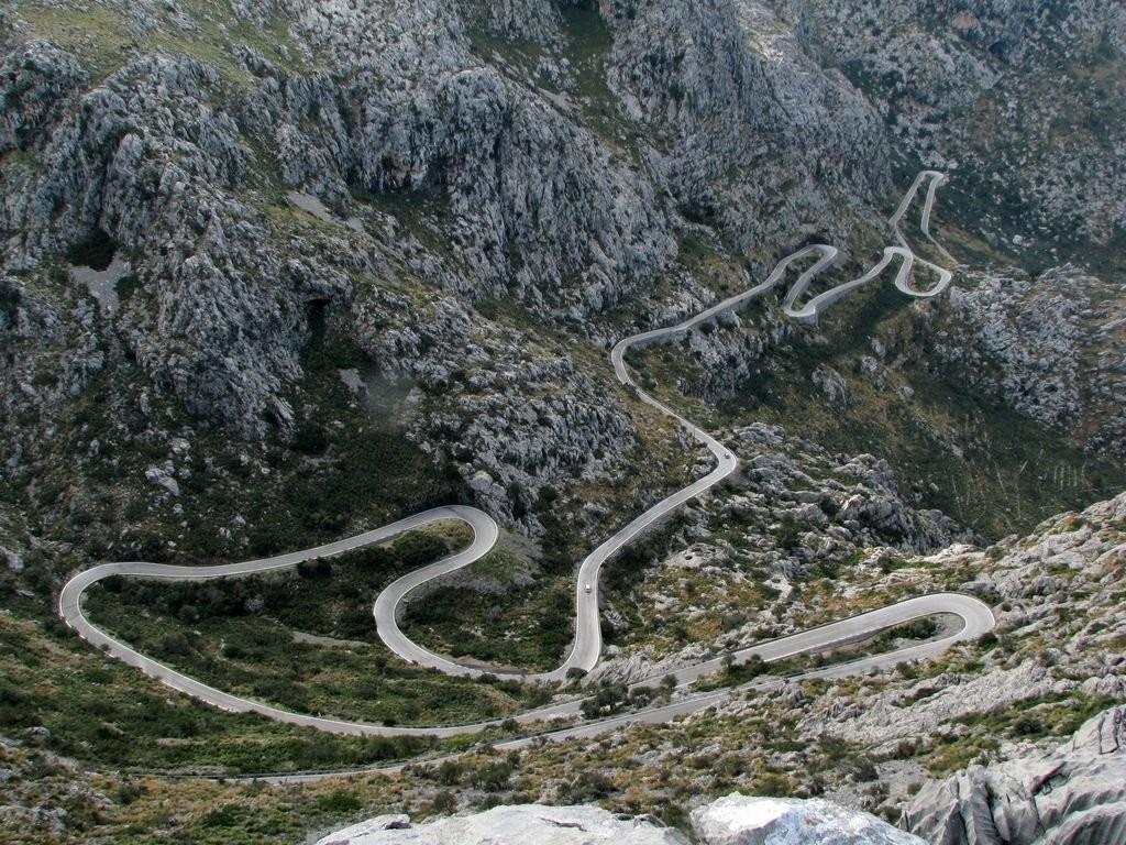 carretera espanola sa calobra mallorca