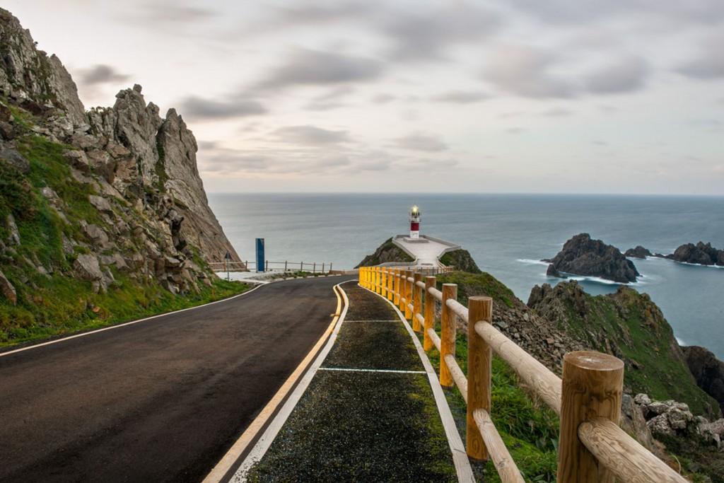 Carretera espanola galicia