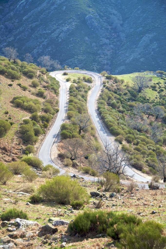carretera valle jerte