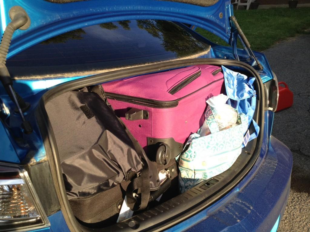 Cómo organizar el maletero del coche